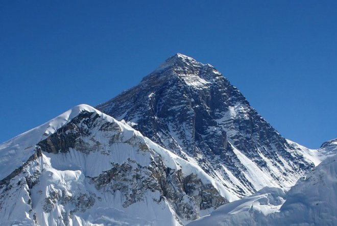 Mount Everest. (Wikipedia Commons photo)